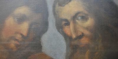 Wielkoformatowy obraz _ Przekazanie Kluczy św. Piotrowi